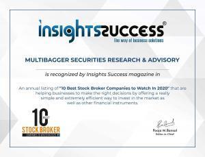 Insight Success Magazine Certificate